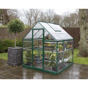 PALRAM Serre de jardin HARMONY 6x6 vert - 3.6m² - Publicité