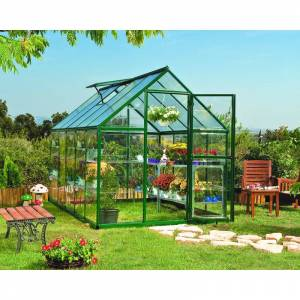 PALRAM Serre de jardin HYBRID 6x10 vert - 5.7m² - Publicité