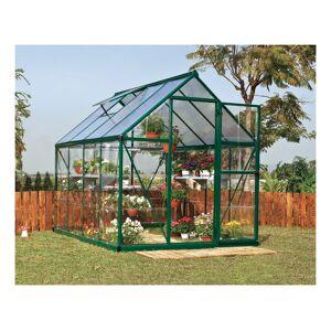 PALRAM Serre de jardin HYBRID 6x8 vert - 4.6m² - Publicité