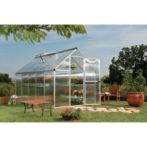 Palram - Serre de jardin MYTHOS 6x10 argent - 5.7m² - Publicité