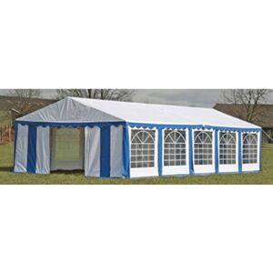Vidaxl - Dessus de tente de réception avec panneaux 10x5 m Bleu et blanc - Publicité