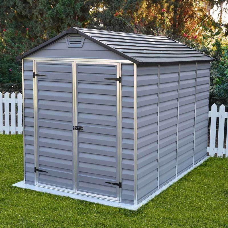Cerland - MADEIRA- Abri de jardin en polycarbonate sur cadre aluminium (PVC