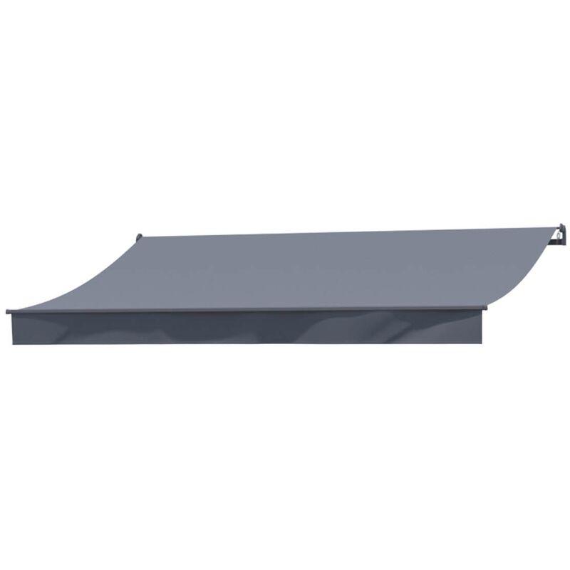 CONCEPT-USINE Adro Store banne manuel 4x3m gris