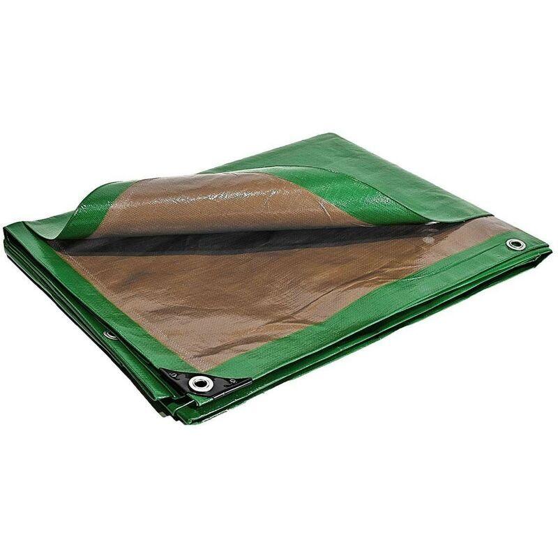 BÂCHES DIRECT Bache de protection 250 g/m² - 10 x 15 m - bache plastique - bache exterieur