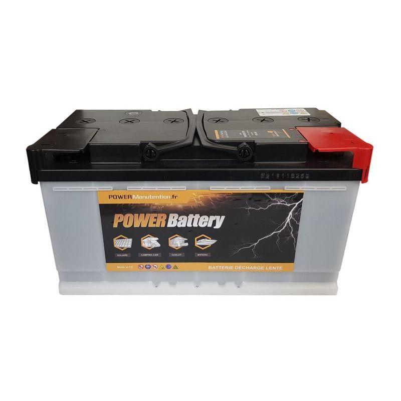 POWER BATTERY Batterie décharge lente 12v 130ah - Power Battery