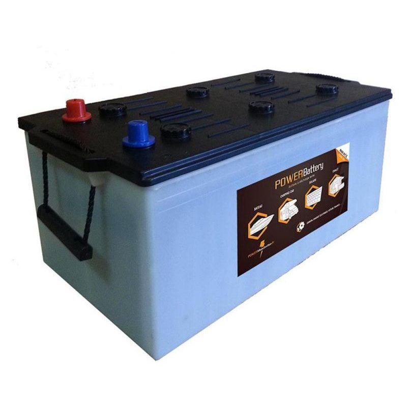 POWER BATTERY Batterie décharge lente Power Battery 12v 180ah