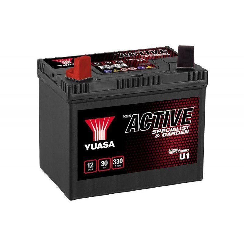 YUASA Batterie tondeuse U1 896 12V 30H 330A - Yuasa