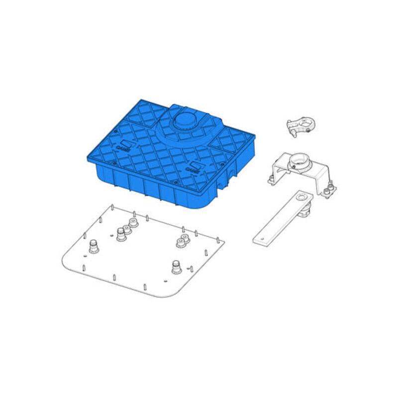 came pièce détachée boîte de fondation et couvercle frog-jc 119ria068