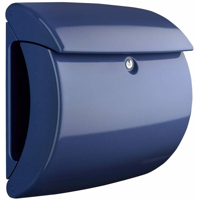 BURG-WäCHTER Boîte aux lettres Piano 886 MB Plastique Bleu marine - Burg-wächter