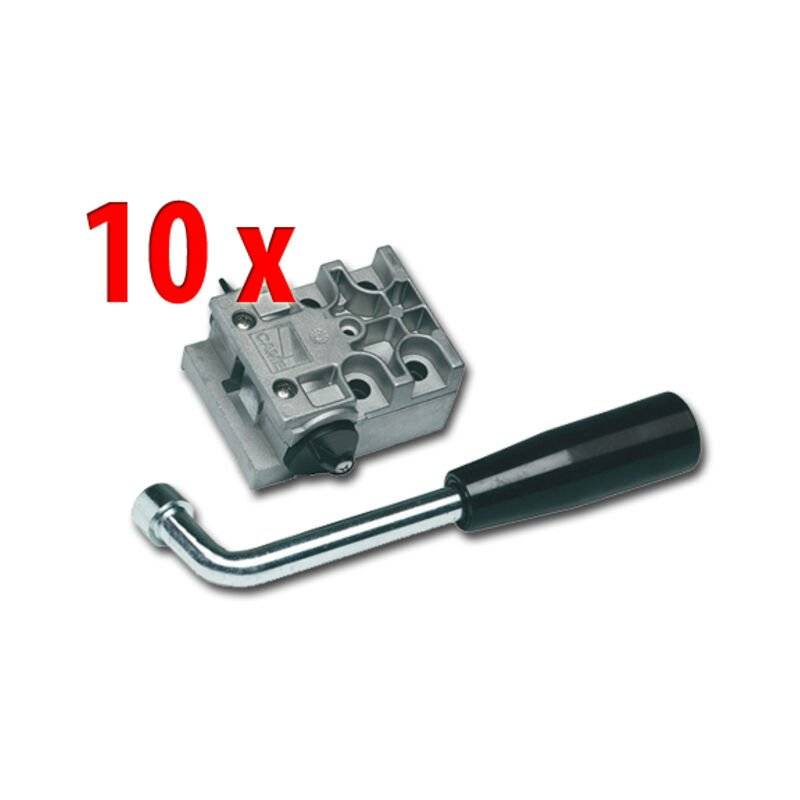 CAME 10 x dispositif de déblocage par clé à levier 001a4364 a4364 - Came