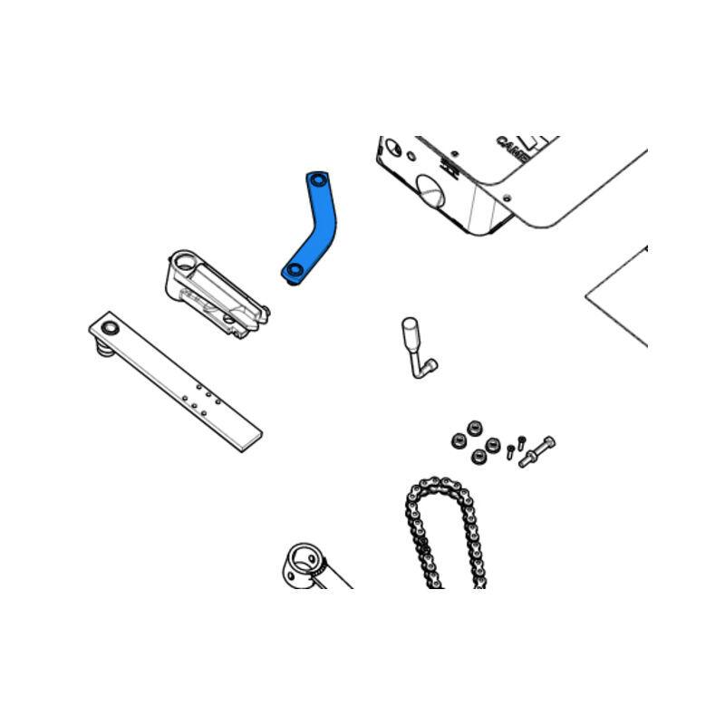 CAME pièce détachée levier de transmission pour caisse frog 119ria078 - Came
