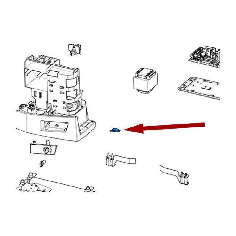 came pièce détachée 10 x micro-interrupteurs bkv 88001-0185