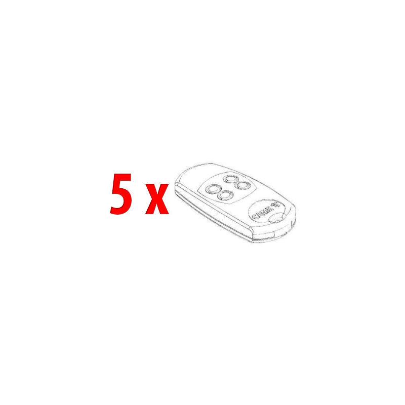 CAME pièce détachée 5 x coques émetteur top-864ee 88006-0030 - Came