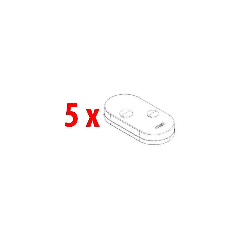 CAME pièce détachée 5 x coques émetteur topd2f multicolore 88006-0034 - Came