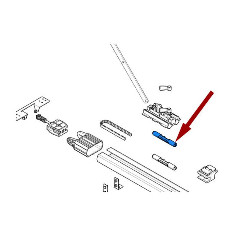 CAME pièce détachée articulation à courroie ver 119rie120 - Came
