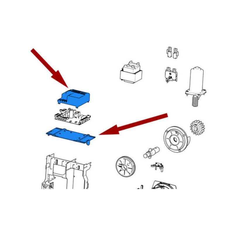 CAME pièce détachée base et couvercle carte sdn/bxv 88001-0169 - Came