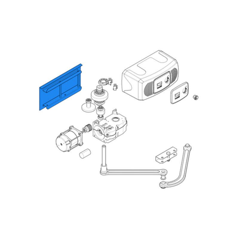 CAME pièce détachée base fixation motoréducteur ferni 119rid074 - Came