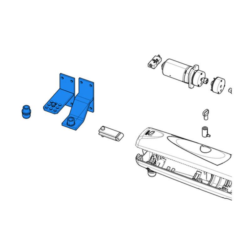 CAME pièce détachée boîtier accessories axo 3/4 88001-0155 - Came