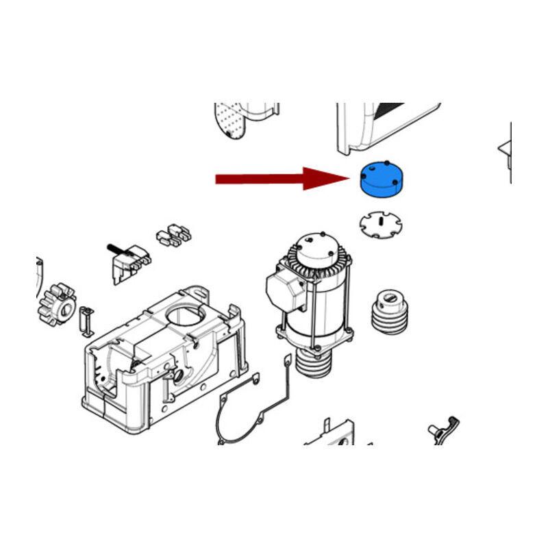 came pièce détachée caisse électro-aimant bk by 119riy034