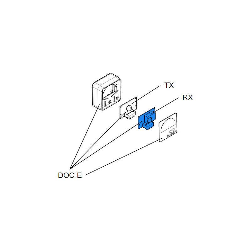 CAME pièce détachée carte électronique rx doc-e 119rir017 - Came