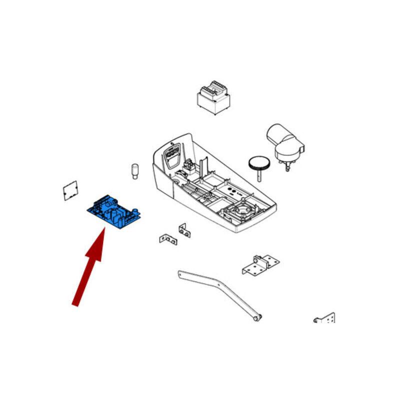 CAME pièce détachée carte électronique zl57 v2 88001-0222 - Came