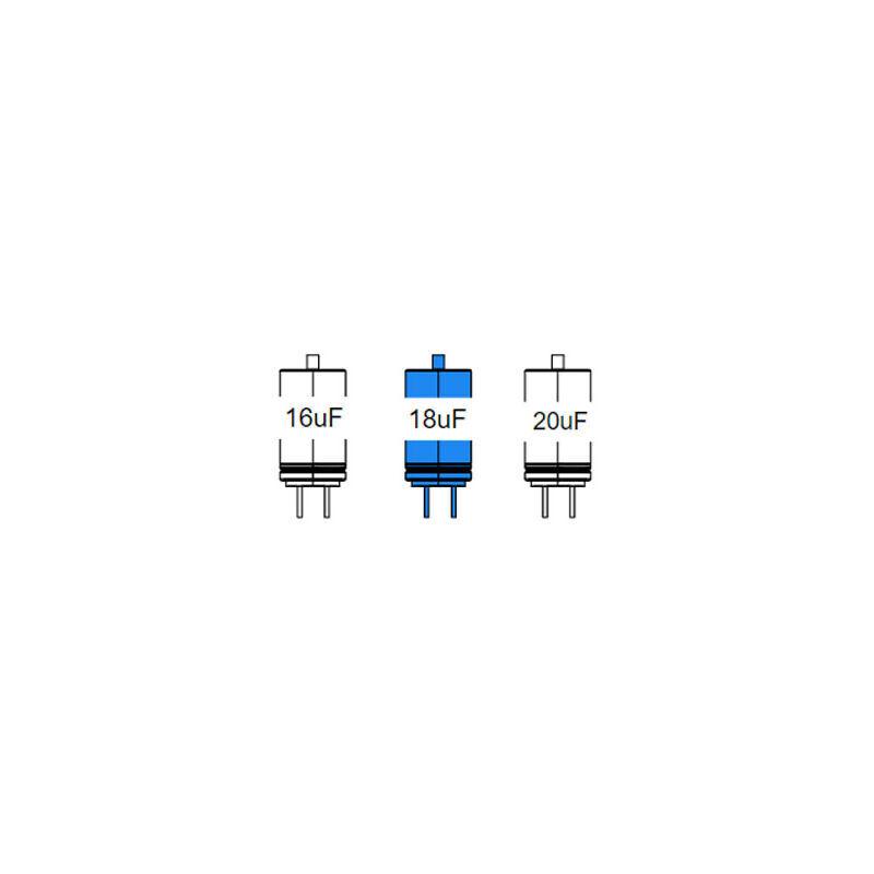 CAME pièce détachée condensateur 18 mF avec câbles et vis 119rir495 - Came