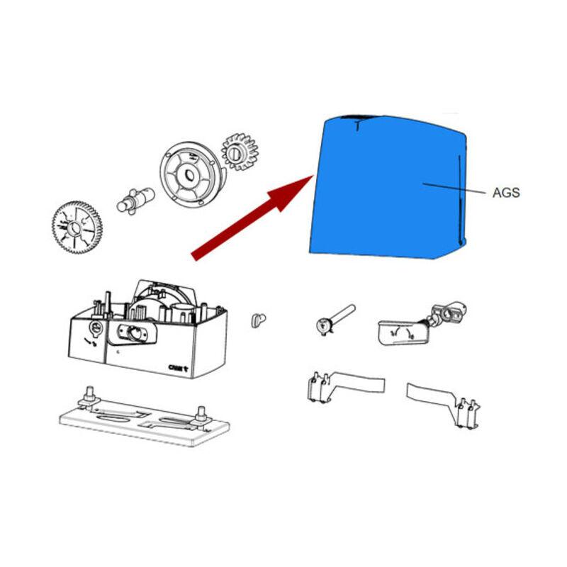 CAME pièce détachée couvercle gris ral 7024 bxv std 88001-0164 - Came