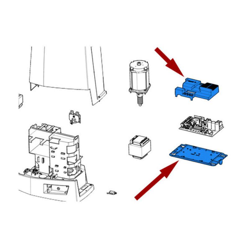 CAME pièce détachée cover et unité de contrôle bkv 88001-0175 - Came