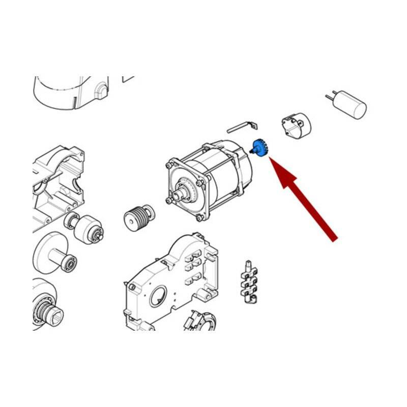 CAME pièce détachée disque pour lecteur optique emega 119rie133 - Came
