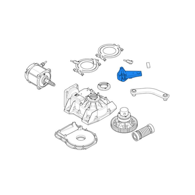 CAME pièce détachée du bras à transmission pour frog 119ria045 - Came