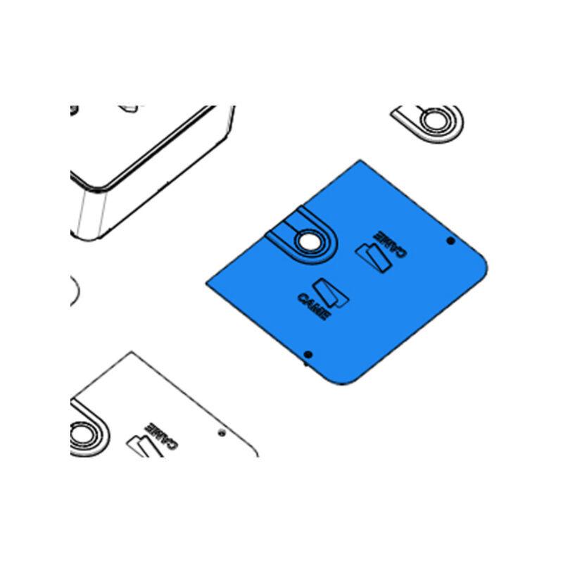 CAME pièce détachée couvercle caisse de fondation frog-cfni 119ria079 - Came