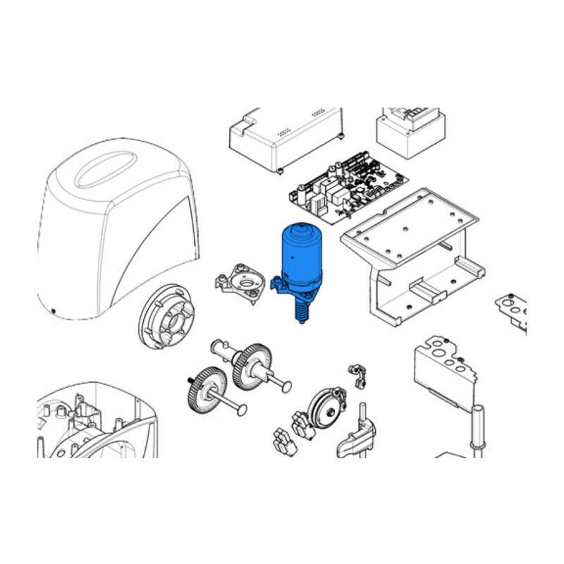 CAME pièce détachée du groupe moteur bx 119ribx059 - Came