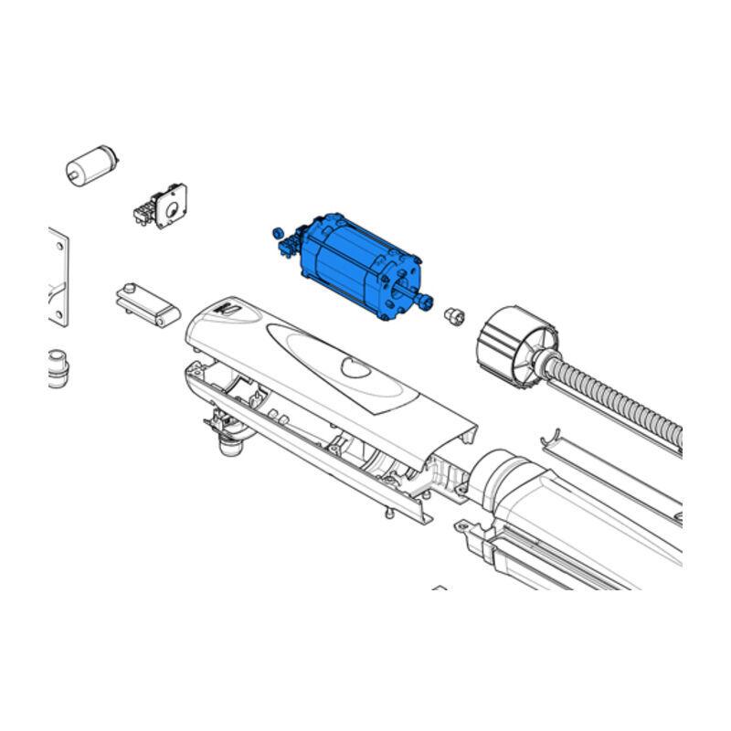 CAME pièce détachée du groupe moteur série axo 230v lent 88001-0142 - Came