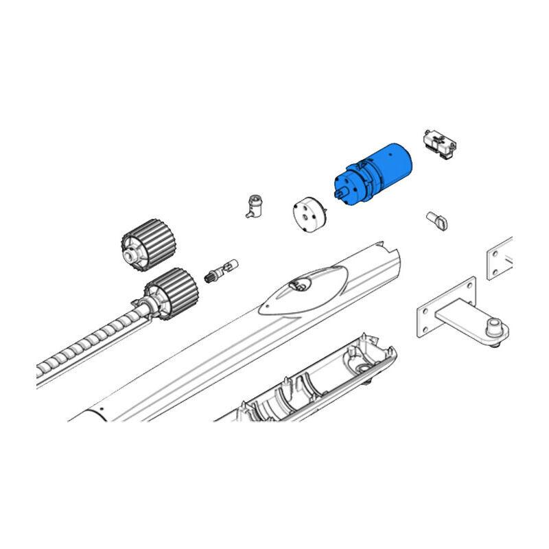 CAME pièce détachée groupe moteur + frein amico 24v 88001-0137 - Came