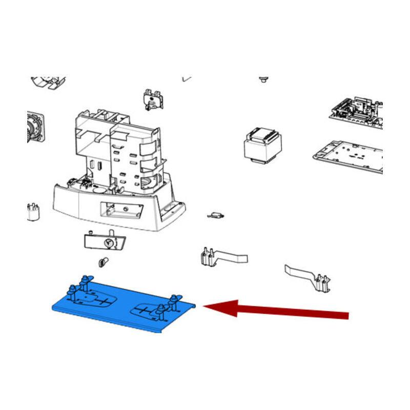CAME pièce détachée groupe plaque de base bkv 88001-0184 - Came