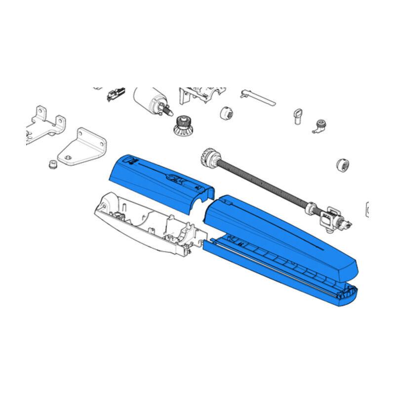 came pièce détachée groupe plastiques externes ral7024 axi20-25 88001-0202