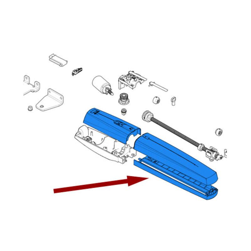 CAME pièce détachée groupe plastiques externes ral7030 swn 88001-0150 - Came