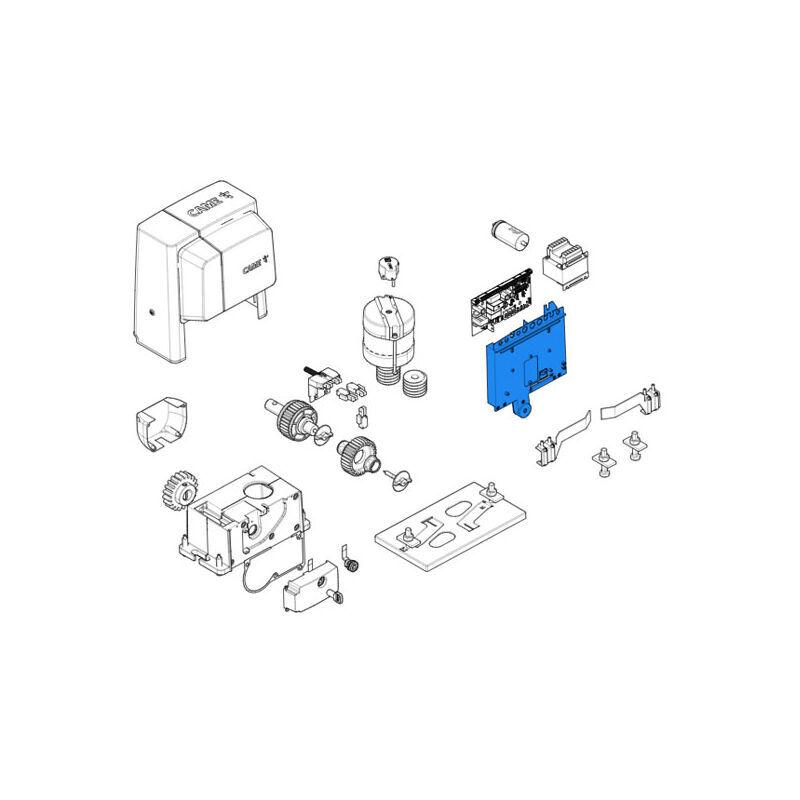 CAME pièce détachée support carte bx 88001-0117 - Came