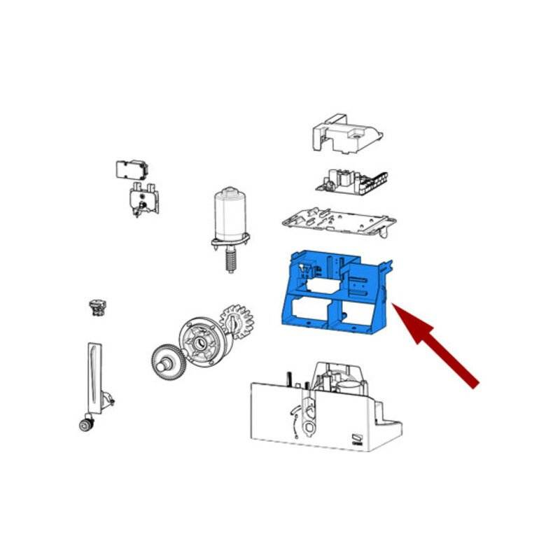 CAME pièce détachée support composants bxl 119rib008 - Came