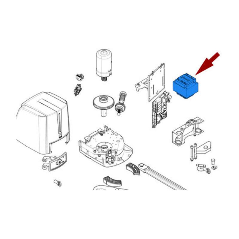 CAME pièce détachée transformateur fst23dlc fast70 sdn 119rir510 - Came