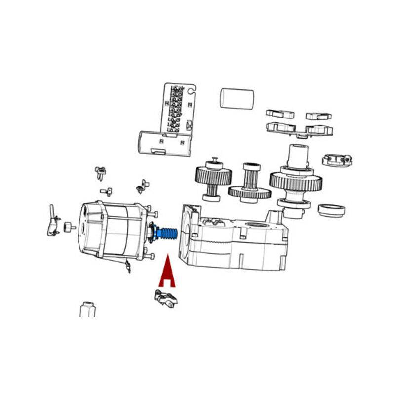 CAME pièce détachée vis sans fin ferni 119rid383 - Came