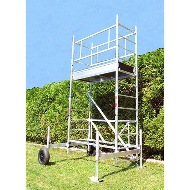 ECHAFAUDAGE DIRECT - MATISERE B. Echafaudage de jardin - Hauteur de plateforme de 3.30m