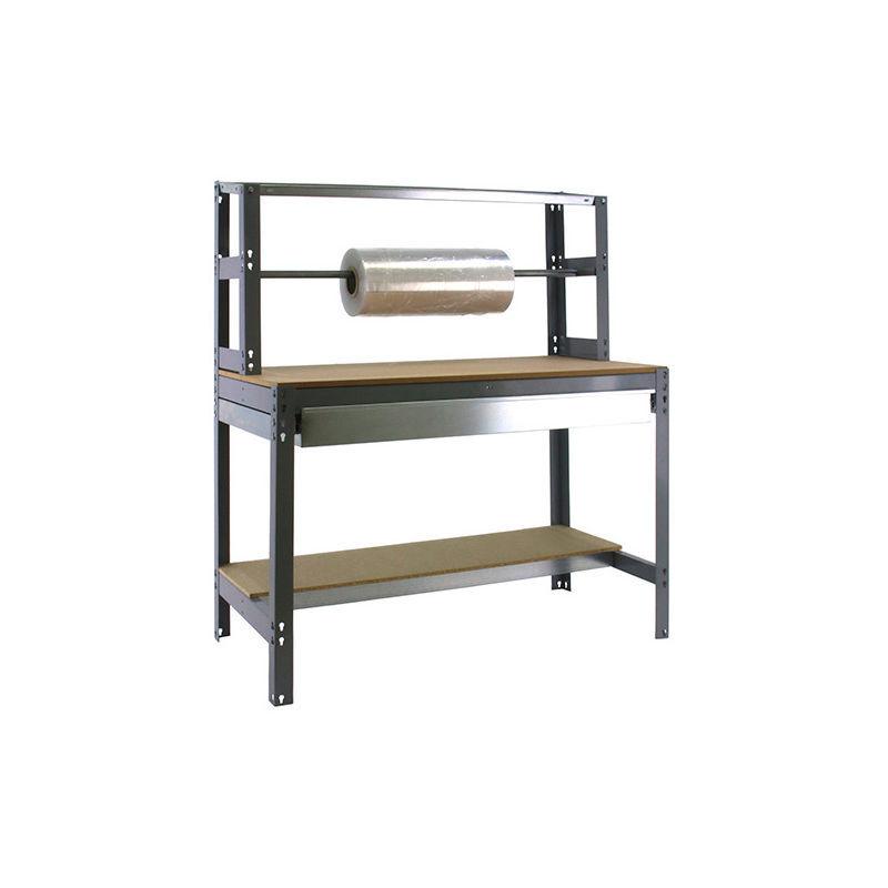 SIMONRACK Etabli 3 niveaux/1 tiroir 875 Kg L. 1510 x Ht. 1445 x P. 760 mm KIT SIMONWORK