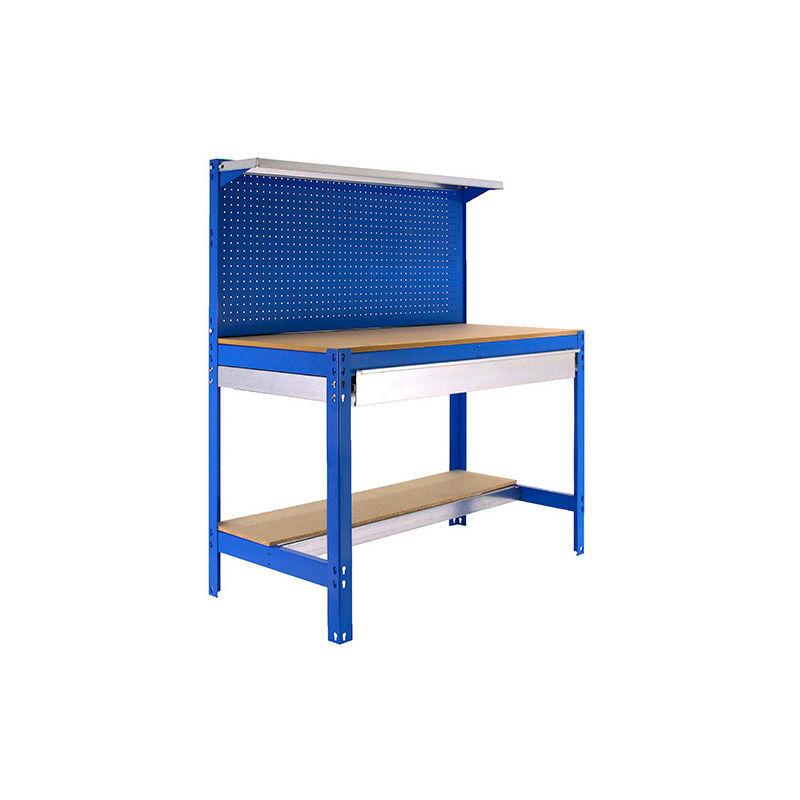 Simonrack - Etabli 3 niveaux/1 tiroir 875 Kg L. 910 x Ht. 1445 x P. 610 mm KIT