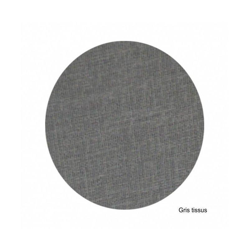 Regiplast - Habillage pour bâti EVO à commande mécanique gris tissus