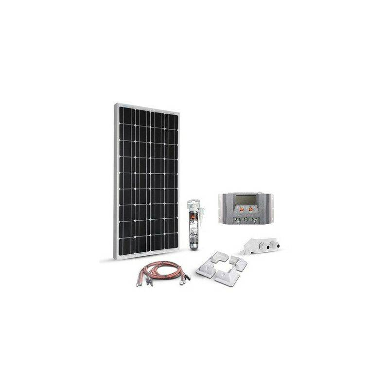 EPEVER Kit solaire 100w 12v camping car-van-bateau Mppt