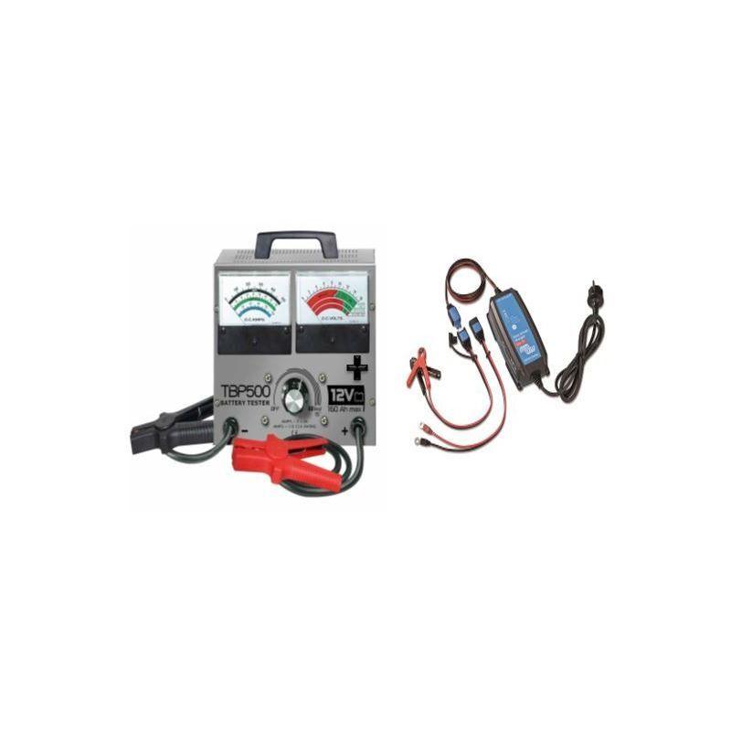 Ecolodis Solaire - kit testeur TBP500 batterie 10Ah à 160Ah 12V (Ampérage : 5 A)