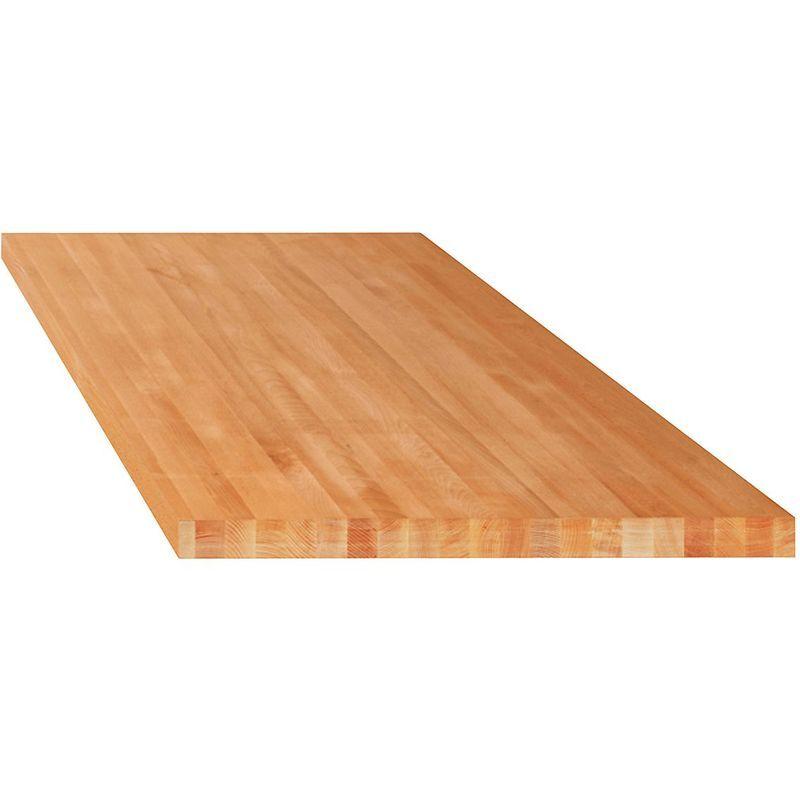 Lista Etabli modulaire, plateau - hêtre massif - l x p 2000 x 750 mm, épaisseur