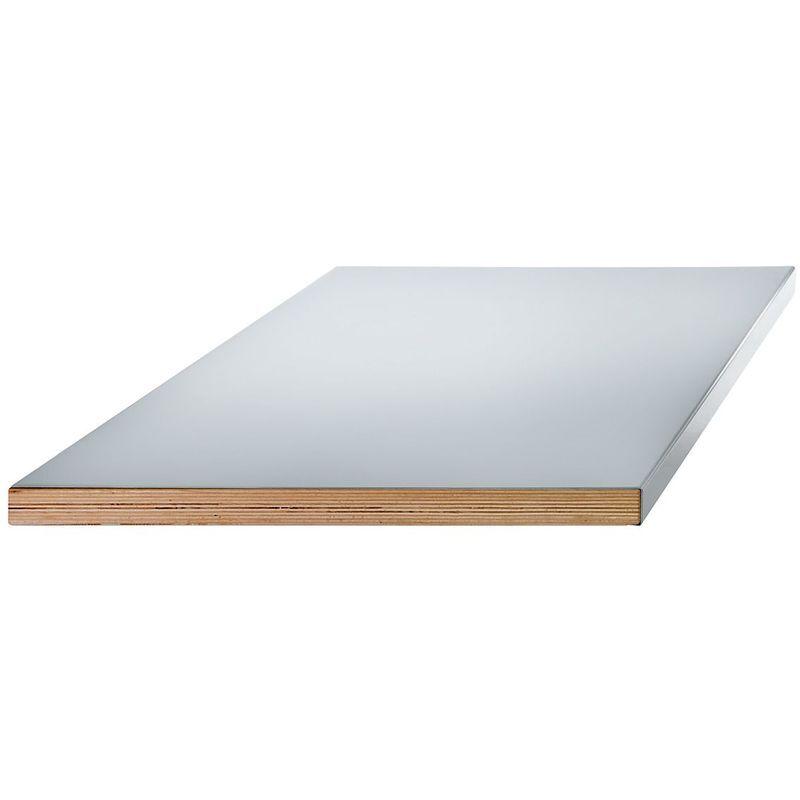 Lista Etabli modulaire, plateau - revêtement en tôle d'acier sur base en
