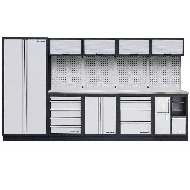 KRAFTWERK Mobilier d'atelier modulaire 5 éléments KRAFTWERK 3538.93